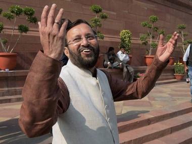 File image of Prakash Javadekar. PTI