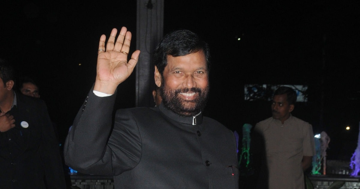 Ram Vilas Paswan Cabinet Minister 2019 Ljp Chief Returns To Ministry Of Consumer Affairs Food And Public Distribution For A Second Term Politics News Firstpost