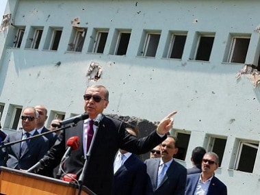Turkey's President Recep Tayyip Erdogan. AP