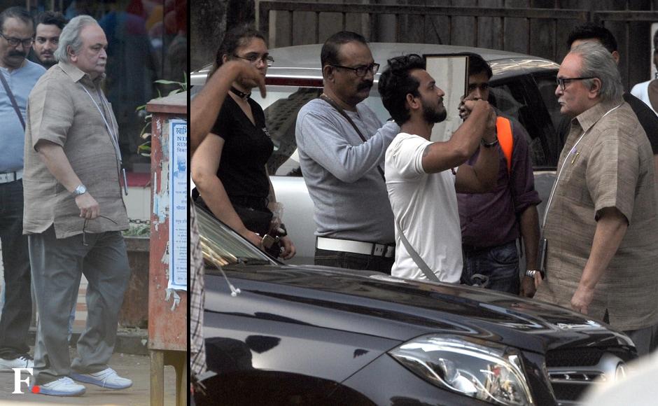 Amitabh and Rishi have worked together in films like <em>Amar Akbar Anthony, Kabhi Kabhie, Naseeb</em> and <em>Coolie</em>. Sachin Gokhale/Firstpost