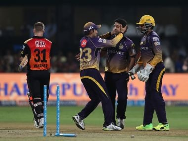 IPL 2017: Sunrisers Hyderabads middle and lower-order implode after strong start to hand KKR win