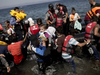 File image of Syrian refugees. AFP.
