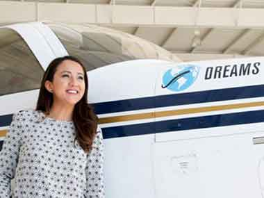 Afghanistans first female certified pilot to become youngest to make solo round-the-world flight