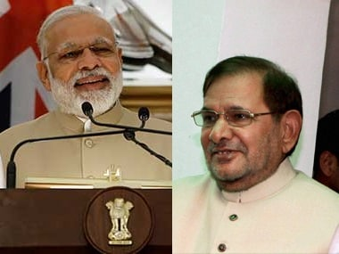JD(U) double standards lay bare as Sharad Yadav unleashes attack on Narendra Modi govt, Major Leetul Gogoi