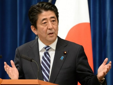Shinzo Abe calls for enforcement of sanctions on North Korea amid growing threat of nuclear attack