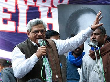 File image of Sitaram Yechury. Firstpost/Naresh Sharma