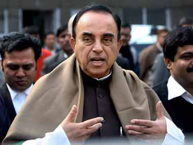 Subramanian Swamy calls Gujarat Congress MLAs cattle in search of fodder after being taken to Bengaluru resort
