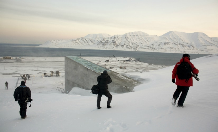 Svalbard global seed storage vault floods as permafrost melts; Norway says it will boost protection