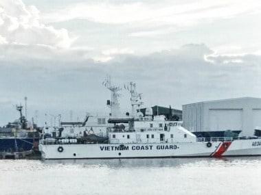 United States delivers 6 coastal patrol boats to Vietnam coast guard