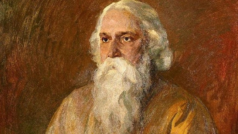 Walther Illner's portrait of Rabindranath Tagore