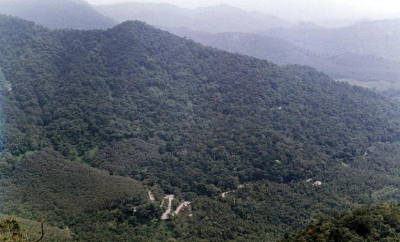 The divide between forests and human settlements is vague in Wayanad. Image courtesy: http://wayanad.nic.in