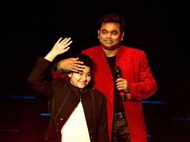 Sachin: A Billion Dreams - A.R Rahmans 14 year-old son Ameen makes singing debut