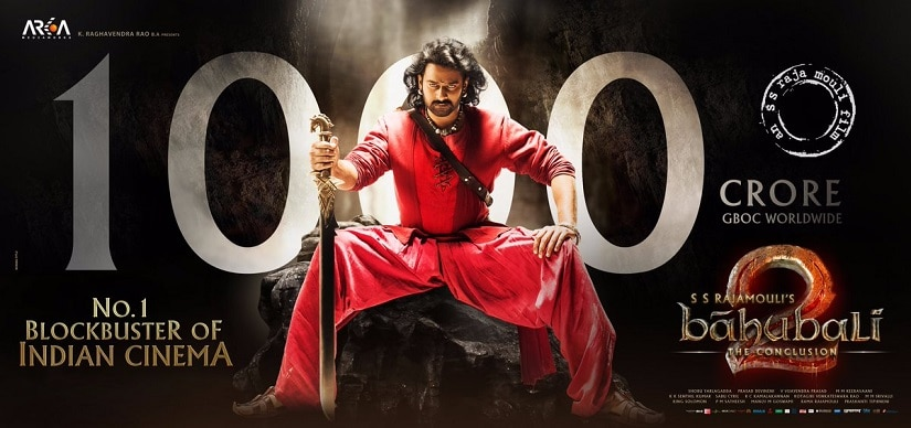 Baahubali 2s Rs 1000 crore collection: How SS Rajamoulis film achieved its box office numbers