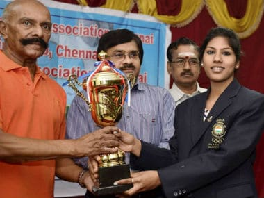 File image of Indian Fencer CA Bhavani Devi. PTI
