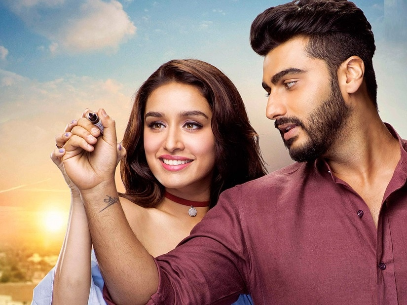 Shraddha Kapoor and Arjun Kapoor in a still from Half Girlfriend
