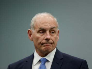 File image of White House chief of staff John Kelly. Reuters