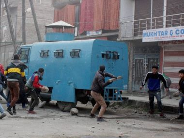 Unrest in valley seems unending.File Image. PTI