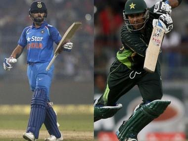 File picture of Virat Kohli (L) and Sarfraz Ahmed (R). Reuters
