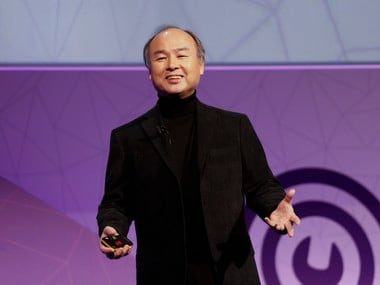 Masayoshi Son, President and Chief Executive Officer of Softbank. Reuters