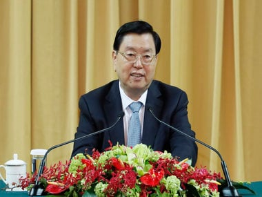 File image of Zhang Dejiang, chairman of the Standing Committee of China's National People's Congress (NPC). AP