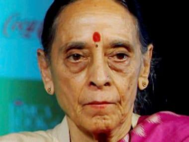 File photo of Justice Leila Seth. PTI