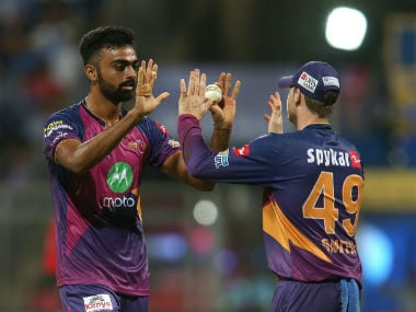 Pune's bowling, at the 'death', led by Jayadev Unadkat (L). has been fantastic . Sportzpics