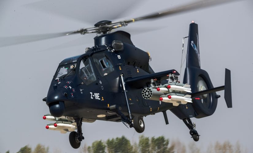Chinas Z-19E attack helicopter makes maiden flight: Black Whirlwind marks countrys major step into chopper market
