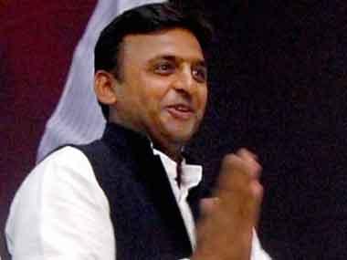 Former Uttar Pradesh chief minister Akhilesh Yadav. PTI