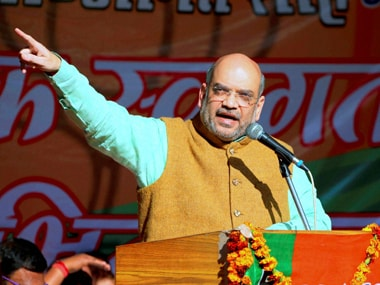File image of BJP President Amit Shah. WP