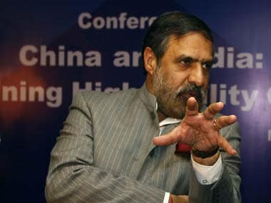 File image of Deputy Leader of Opposition, Anand Sharma.AP