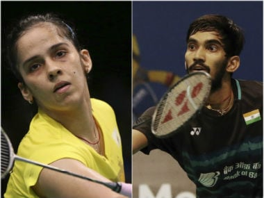 Saina Nehwal and Kidambi Srikanth will be aiming to win titles at the Australian Open. AP