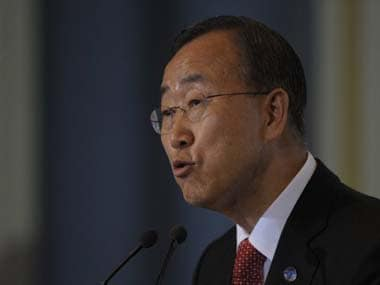 File image of Ban Ki-Moon. AFP
