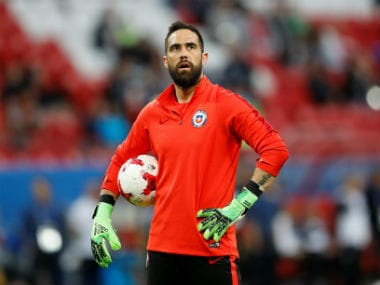 File image of Claudio Bravo. Reuters