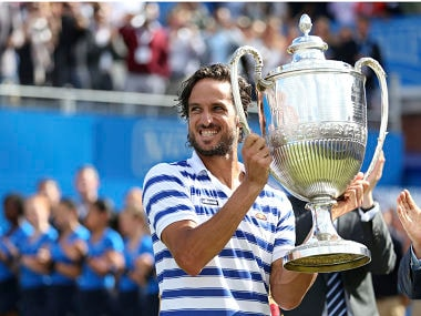 Queens Club: Feliciano Lopez defeats Marin Cilic in dramatic fashion to clinch title