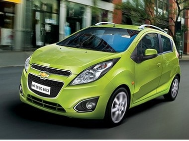 Chevrolet Beat. Image courtesy : Company website