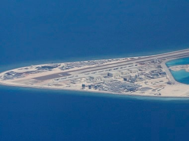 China, Vietnam, Philippines, Malaysia, Brunei and Taiwan all have claims over islands in the South China Sea. AP file image