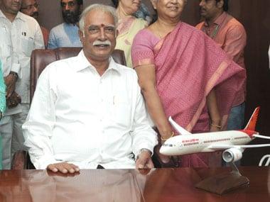File Image of Civil Aviation Minister Ashok Gajapati Raju. Image Credit: PIB