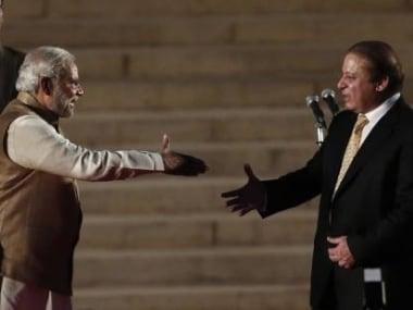 File image of Narendra Modi and Nawaz Sharif. Reuters