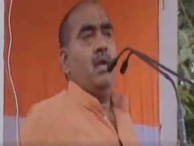 Screenshot of Dilip Mishra from ANI video.