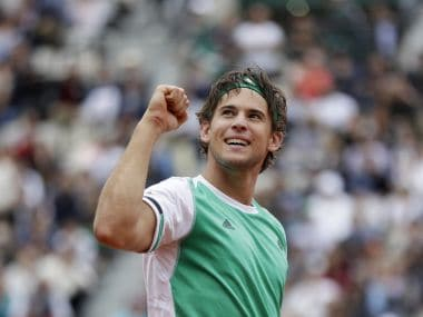 Dominic Thiem set for battle of generations against Rafael Nadal in the French Open semifinals. AP