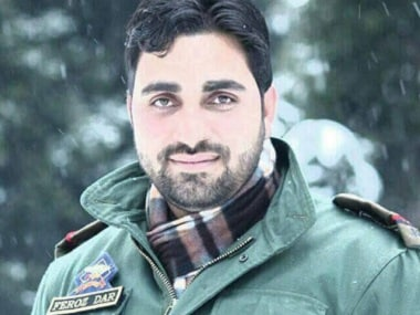 Feroz Ahmad Dar, dutiful father and conscientious police officer, slain by a flurry of LeT bullets