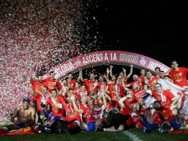 La Liga: Girona secure promotion for first time after stalemate with Real Zaragoza