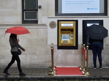 ATM celebrates 50th birthday, first-ever cash machine goes golden to mark occasion