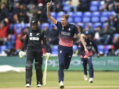 England call up pacer Jake Ball as cover for injured Chris Woakes in Australia ODI series squad