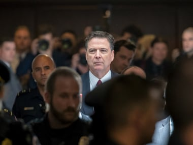 James Comey compares Donald Trump to mob boss, Trump cries untruthful slime ball