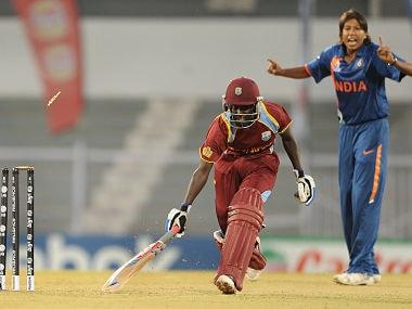 File image of Indian cricketer Jhulan Goswami. AFP