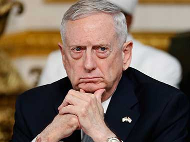 File image of US Defense Secretary Jim Mattis. AP