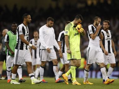Britain Soccer Football - Juventus v Real Madrid - UEFA Champions League Final - The National Stadium of Wales, Cardiff - June 3, 2017 Juventus' Gianluigi Buffon looks dejected after the match Reuters / John Sibley Livepic - RTX38V19