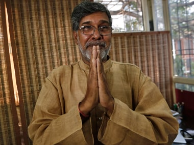 Kailash Satyarthi urges India, US to save children from extremism by promoting education
