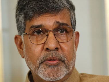 File image of Kailash Satyarthi. Reuters
